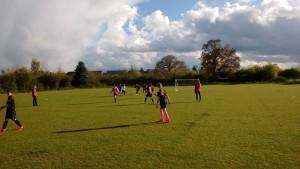 Crick ladies football