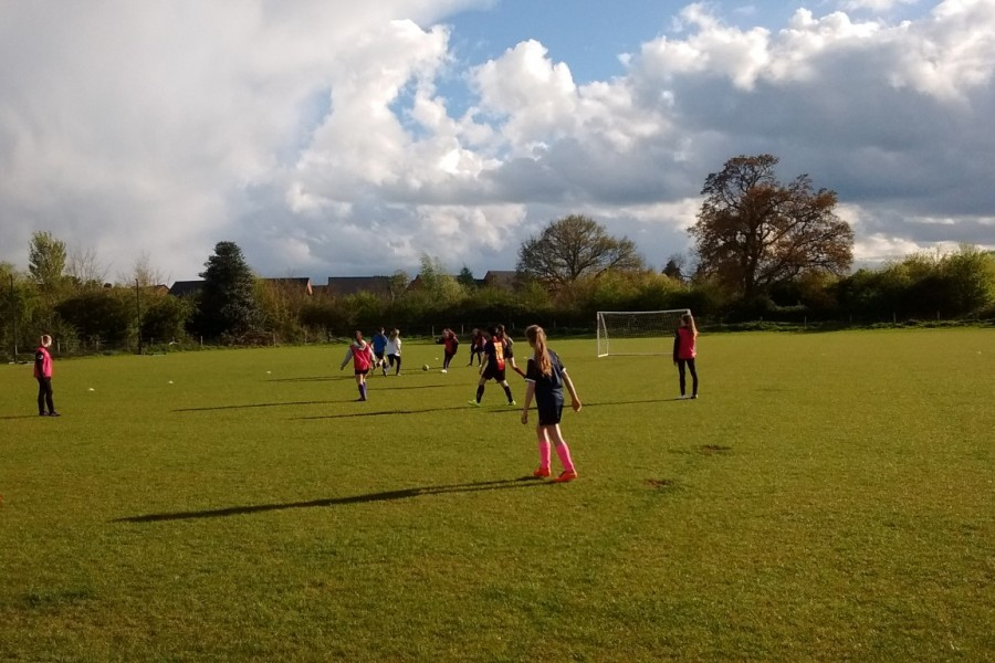 Crick ladies football